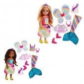 Mattel Barbie Chelsea Bebek Ve Kıyafetleri Fjc99