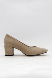 Freefour Kadın Kısa Kalın Topuklu&stiletto...