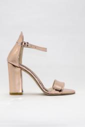FreeFour Kadın Tek Bant Topuklu&Stiletto Ayakkabı