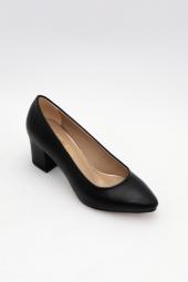 FreeFour Kadın Kısa Kalın Topuklu&Stiletto Ayakkabı-2