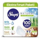Sleepy Natural Maxi Kalın Normal (100 Ped)