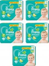 Prima Bebek Bezi No 7 Beden (15+ Kg) 170 Adet Fırsat Paketi