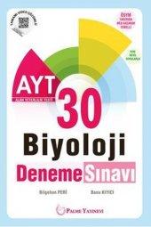 Palme Kitabevi Ayt Biyoloji 30 Deneme Sınavı