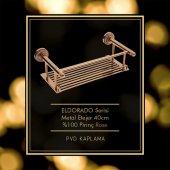 Maya Eldorado PVD Rose Metal Etejer 40cm 100 Pirinç-2