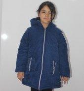 Badebaby Kız Çocuk Kol Fermuarlı Kaban 5 8 Yaş K55