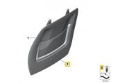 BMW Güneşlik A B C D Direği KOLTUK Pandizot Döşeme Klips HSK0183-3