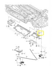 Audi VW TAMPON KAPI TABAN Klips N10621301, N 10621301-6