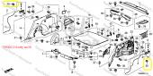 Honda Nissan Mazda Klips, 90662Sb2003, 62698-V7000, 999100503-6