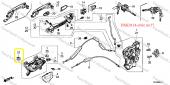 Honda Nissan Mazda Klips, 90662Sb2003, 62698-V7000, 999100503-8