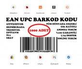 1000 Adet Ean Upc Gtin Barkod Listeleme Kodları