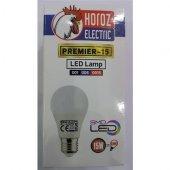 Horoz 15 Watt Led Ampul E-27 Duy 6400 Kelvin Beyaz Işık 1400 Lumen - 10 Adet-2