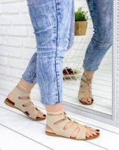 Kaiya Vizon Süet Sandalet-2