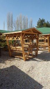Alaçam Mobilya Çatılı Piknik Masası 6 Kişilik...