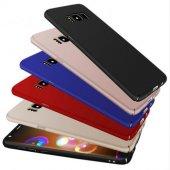 Samsung Galaxy S8 Plus Slim Fit Kılıf Mat Süet...