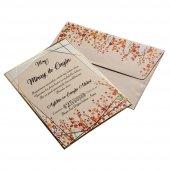 Renkli Düğün Davetiyesi Kl10547 100 Adet