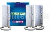 Kumel 3lü Telediafon Asansör,Vip Araç,Ambulans Telefon Yeni Model