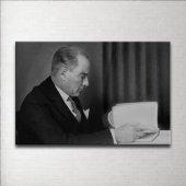 Siyah Beyaz Atatürk Kanvas Tablo