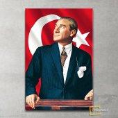 Atatürk Portresi Kanvas Tablo