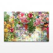 Bahar Çiçekleri Kanvas Tablo