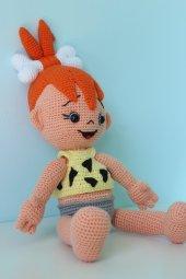Amigurumi Çakıl bebek-3