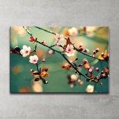 Japon Ağacı Kanvas Tablo