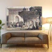Topkapı Sarayı Bab I Hümayun Kanvas Tablo