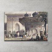 Topkapı Sarayı Bab-ı Hümayun Kanvas Tablo-2