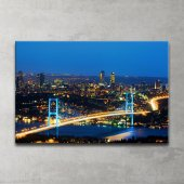 Boğaz Köprüsü Kanvas Tablo