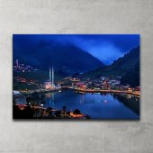 Uzungöl Trabzon Kanvas Tablo