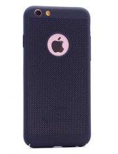 Apple iPhone 7 Kılıf Delikli Rubber Kapak-3