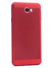 Galaxy J5 Prime Kılıf Delikli Rubber Kapak-3