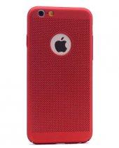 Apple iPhone 7 Kılıf Delikli Rubber Kapak-6