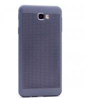 Galaxy J5 Prime Kılıf Delikli Rubber Kapak-7