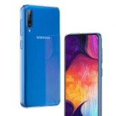 Galaxy A70 Kılıf Zore Ultra İnce Silikon Kapak 0.2 mm