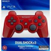 Sony Ps3 Muadil Oyun Kolu Joystick Ds3 Dualshock 3 Ps3 Kol Sıfır Kutusunda Kırmızı Renk