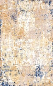 Shımal 9037a C Mavi C Krem 100x300