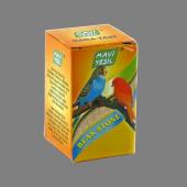 Mavi Yeşil Kanarya Ve Muhabbet Kuşu Küp Gaga Taşı 40 Lı