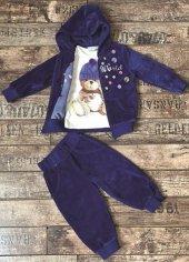 Edel Weiss 51048 Kız Çocuk Kadife 3 Lü Takım