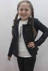 Edel Weiss 11469 Kız Çocuk Deri Ceket