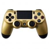 Ps4 Dualshock 4 V2 Gamepad Muadil Kol Gold