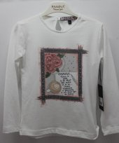 Pamina Kız Çocuk Uzun Kollu Tshirt-3