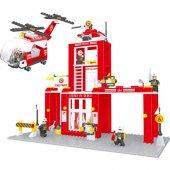 Bricks 505 Parça İtfaiye Seti Lego