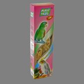 Mavi Yeşil Ballı Ve Meyveli Paraket Krakeri 40 Lı