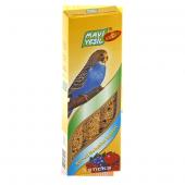 Mavi Yeşil Meyveli Muhabbet Kuşu Krakeri