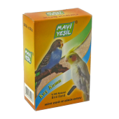 Mavi Yeşil Kuş Kumu 350 G 15 Li