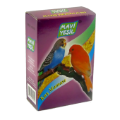 Mavi Yeşil Kanarya Ve Muhabbet Kuşu Maması 15 Li