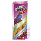 Mavi Yeşil Berra Ballı Ve Meyveli Muhabbet Kuşu Krakeri 50 Li