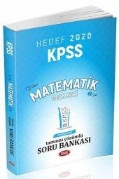 2020 Kpss Matematik Tamamı Çözümlü Soru Bankası...