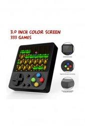 Retro 3.0 Inç Hd Lcd Ekran Taşınabilir Atari  333 Oyunlu Gameboy Oyun Konsolu 233-3