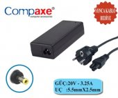 Compax Clı 602 20v 3,25a Lenovo Uyumlu 5.5*2.5 Nb. Adaptör